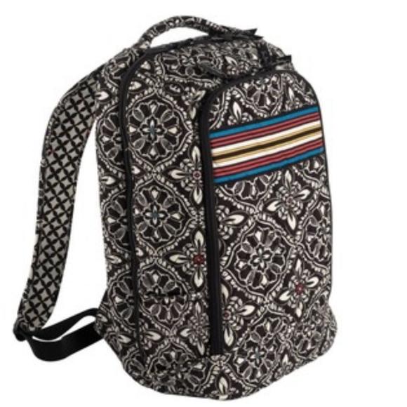 Vera Bradley Laptop Backpack floral Barcelona